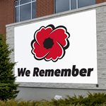 BANNER WE REMEMBER 15' X 20'