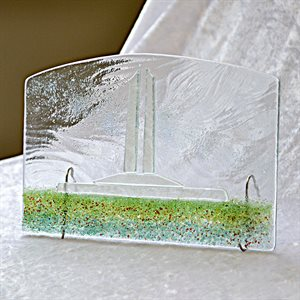 FUSED GLASS ART, VIMY MEMORIAL