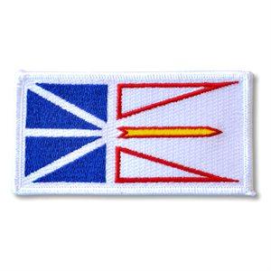 """PATCH NEWFOUNDLAND AND LABRADOR FLAG 2"""" X 4"""""""