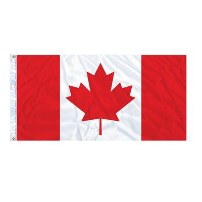 FLAG CANADA 6' X 3' GROMMET (2)