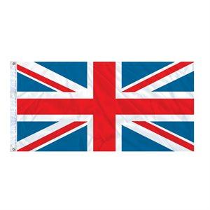FLAG UNION JACK 6' X 3' GROMMET (2)