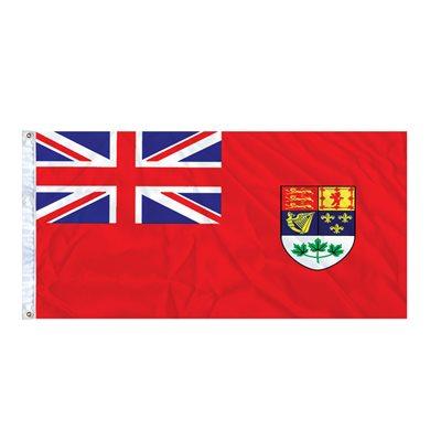 FLAG RED ENSIGN 6' X 3' GROMMET (2)