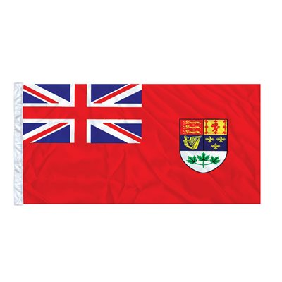 FLAG RED ENSIGN 6' X 3' SLEEVED