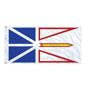 FLAG NEWFOUNDLAND AND LABRADOR 6' X 3' GROMMET (2)