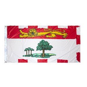 FLAG PEI 6' X 3' GROMMET (2)