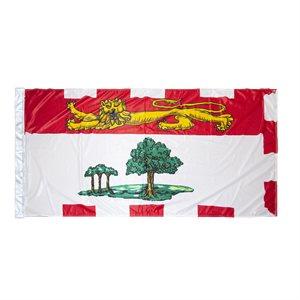 FLAG PEI 6' X 3' SLEEVED