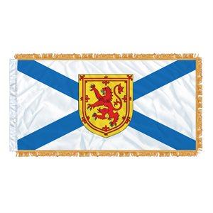 "FLAG NOVA SCOTIA  54"" X 27"" SLEEVED & FRINGED"