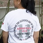 T-SHIRT ARMISTICE SMALL ENGLISH