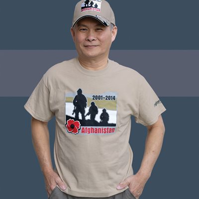 T-SHIRT AFGHANISTAN SMALL