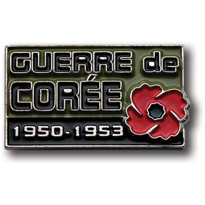 LAPEL PIN GUERRE DE CORÉE (FRENCH)