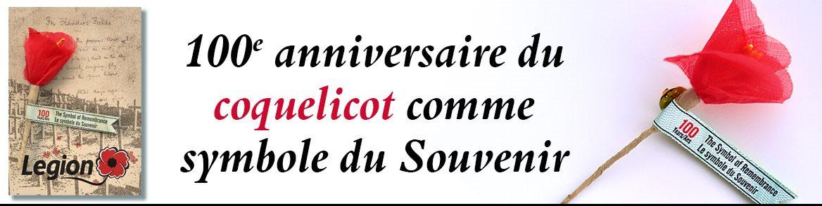 100e anniversaire du Coquelicot comme symbole du Souvenir